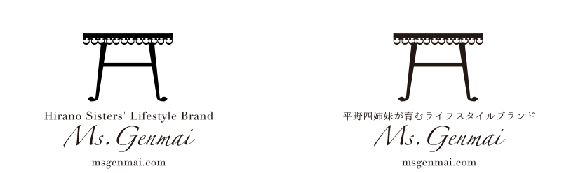 Ms.Genmai様ロゴ