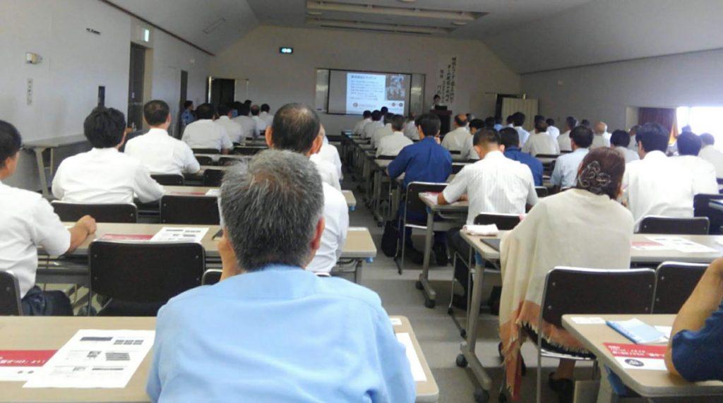 三重県警での講演の様子